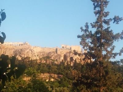 Athens - Acropolis view